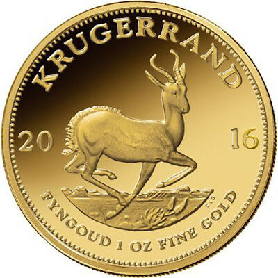 Купить 1 oz South African Gold Krugerrand Coin (Varied Year)