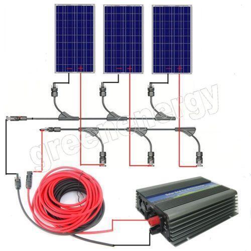 500 watt solar panel ebay. Black Bedroom Furniture Sets. Home Design Ideas