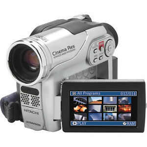 Hitachi DZHS300A DVD Hybrid Camcorder with 25x Optical Zoom & 8G