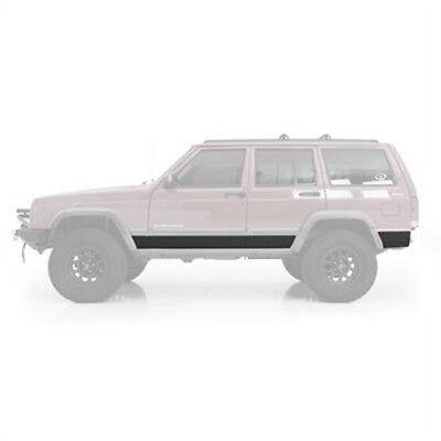 Smittybilt 76854 XRC Armor Body Cladding For 1984-2001 Jeep Cherokee (Body Armor Jeep Bumpers)