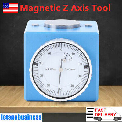 0-2 Mm Magnetic Z Axis Cnc Tool Presetter Carbon Steel Touch Off Gage Length