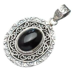 Onyx pendant ebay black onyx pendants aloadofball Image collections