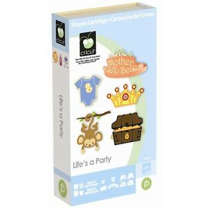 Cricut Life's a Party Cartridge - $45
