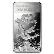 Year of The Dragon Silver Bars