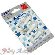 Sugarcraft Square Cutters