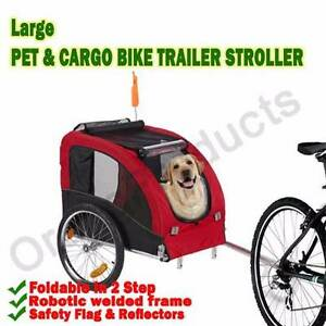 Brand New Large Pet Dog Cargo Stroller Bicycle Bike Trailer Maylands Bayswater Area Preview