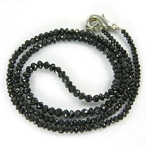 Black diamond necklace ebay mens black diamond necklace aloadofball Image collections