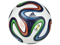 New HandMade Beautiful 5ply Euro World Cup Ball 2016 size 5 beginners to professional