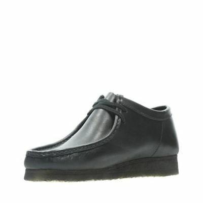 Clarks Originals Men's Wallabees Black Leather 26138269 ()