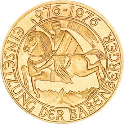 1000 Schilling Austrian Gold Coin (AU)