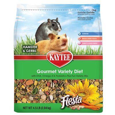 - NEW Kaytee Fiesta Hamster and Gerbil Food 4.5 lb bag FREE SHIPPING