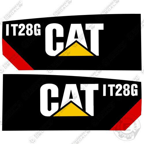 Caterpillar IT28G Integrated Toool Carrier Decal Kit Equipment Decals