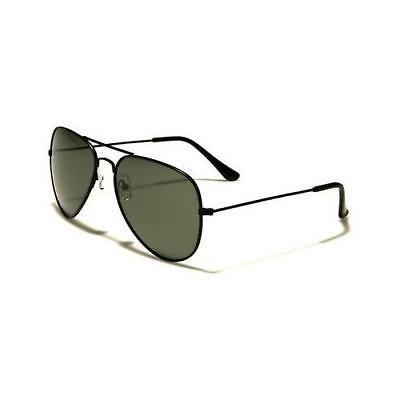 Black Polarized Sunglasses Driving Aviator