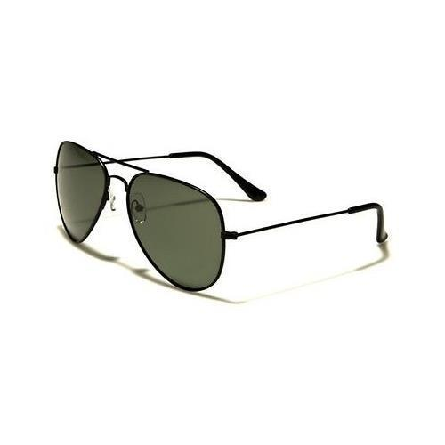 Black Polarized Sunglasses Driving Aviator