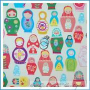 Russian Nesting Doll Fabric