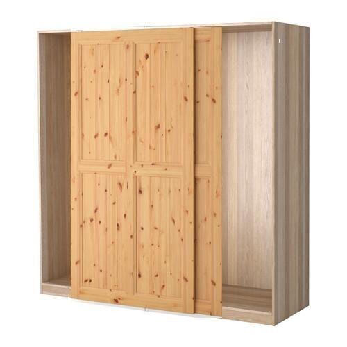Brand New Ikea Pax Wardrobe With Hurdal Sliding Doors In