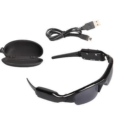 Glasses Mini DV/DVR Sunglasses Camera Video SPY Hidden Audio Sport Recorder 8GB