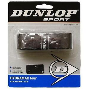DUNLOP HYDRAMAX TOUR BLACK REPLACEMENT GRIP - 5 GRIPS PACK -