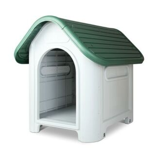 New medium size, waterproof dog kennel in box, never opened