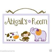 Nursery Decor Animals