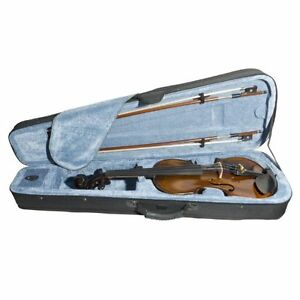 Ebony Fitted Flamed One-Piece Solid Wood Violin  (Brand new) Kitchener / Waterloo Kitchener Area image 6