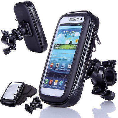 360 Degree Waterproof Bicycle Mount Holder Case Bike Cover for Mobiles Phones