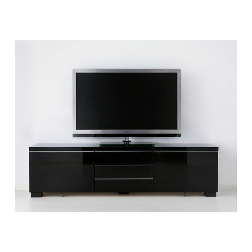 Ikea besta burs black high gloss tv purchase sale and - Meuble tv ikea besta burs ...