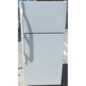 GE white refrigerator delivery available