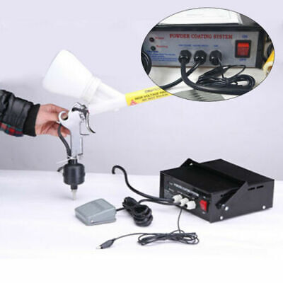 110v Powder Coating System Paint Spray Gun Portable Powder Coating Machine Usa