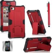 iPhone 4 Red Hard Case Rubber