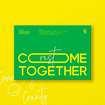 CRAVITY COME TOGETHER Summer Package REST Planner+Card+Photo+Polaroid+Poster+etc