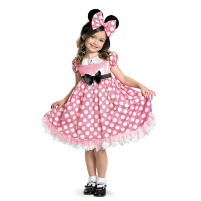 Girls Minnie Mouse Glowing Disney Halloween - Glow Girl Costume