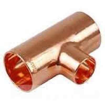 Plumbing Copper Reducing Tee 1 X 1 X 1 6