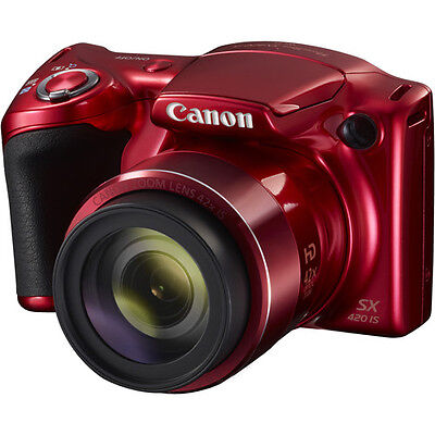 Canon Powershot Sx420 Is Digital Camera   Red