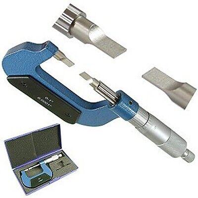 Pro Precision 0-1 Outside Blade Micrometer 0.0001 New
