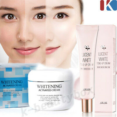 BEST WHITENING CREAM Whitening Activated Cream 100g & White Tone-Up Cream