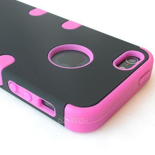 Pink and Black iPhone 5 Case | eBay