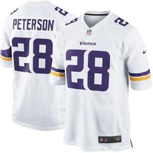 white adrian peterson jersey