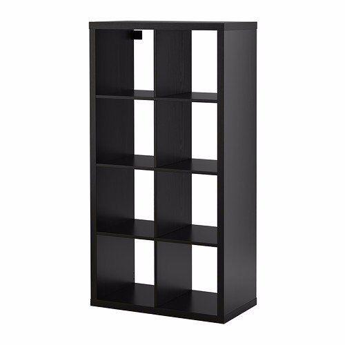 Shelving unit (IKEA - KALLAX) black