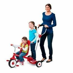 Radio Flyer Ride & Stand Stroll 'N Trike Kids Tricycle Children B Belmore Canterbury Area Preview