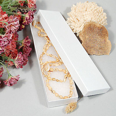 10 Necklacebracelet Box- 8 X 2 X 78- Made In Usa Fast Free Shipping