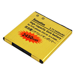 2450MAH High Capacity Battery For Htc Sensation 4G G14 Amaze 4G / Sprint EVO 3D