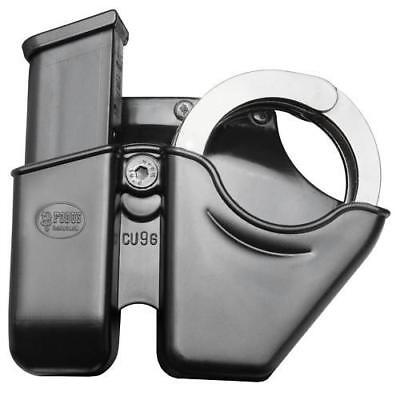Fobus CU9GBH Belt Slide Handcuff & Magazine Combo Holster For Glock 9mm/.40 Mags