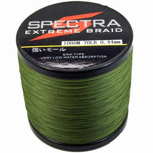 50lb braided fishing line 1000m ebay