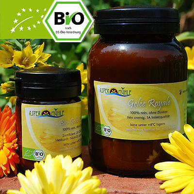 100% reines Bio Gelee Royal - 100g - 150g - 250g - 500g - 1kg