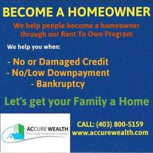 $5-$10K Downpayment for a house in Edmonton