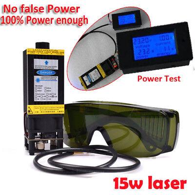 450nm 7w Blue Laser Module With Heatsink For Laser Cutter Engraver Cnc Diy Laser