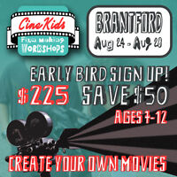 Are your Kids interested in Making Movies? Sign Up!