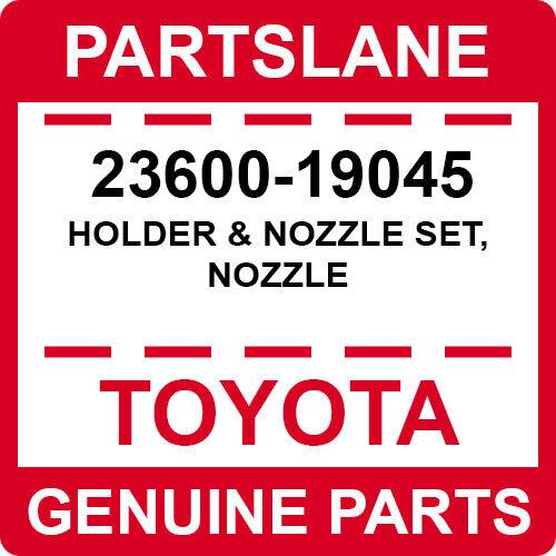 23600-19045 Toyota Oem Genuine Holder & Nozzle Set, Nozzle