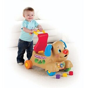 Fisher-Price - Laugh & Learn - Stride-to-Ride Puppy